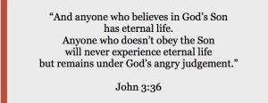 John 3.36