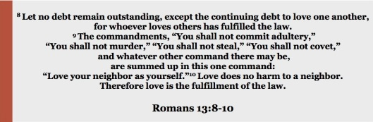 romans 13.8-10