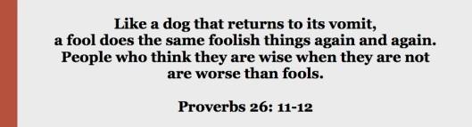 proverbs 26.11-12